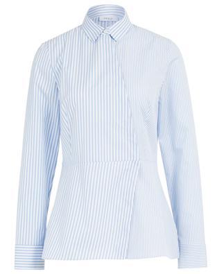 Longue chemise rayée en coton AKRIS PUNTO