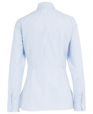 Long striped cotton shirt AKRIS PUNTO