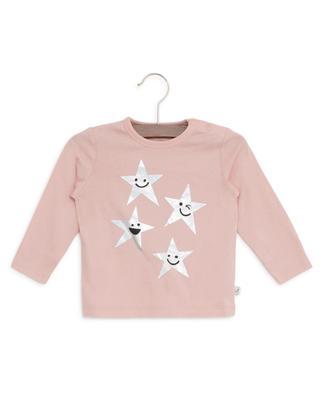 T-shirt en coton Smiling Stars STELLA MCCARTNEY KIDS