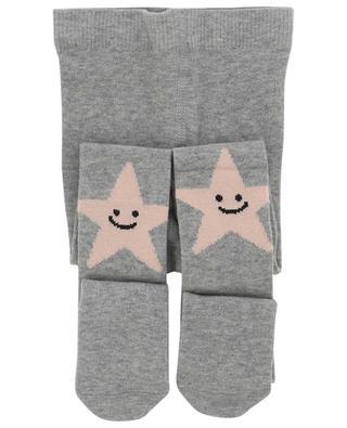 Smiling Star Intarsia knit tights STELLA MCCARTNEY KIDS