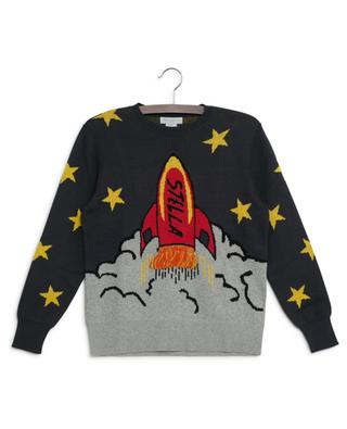 Stars & Shuttle sustainable jacquard jumper STELLA MCCARTNEY KIDS