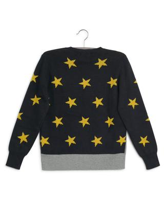 Nachhaltiger Jacquard-Pullover Stars & Shuttle STELLA MCCARTNEY KIDS