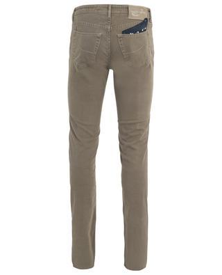 Slim-Jeans aus Baumwollmix mit Print J622 JACOB COHEN