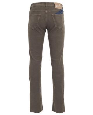 Slim-Jeans aus Baumwolle mit Print J622 JACOB COHEN