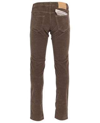 Slim-Fit-Jeans aus texturiertem Samt J622 SLIM-COMF JACOB COHEN