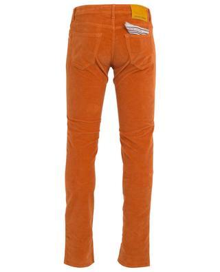 J622 SLIM-COMF textured velvet slim fit jeans JACOB COHEN