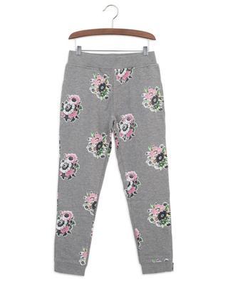 Flower Bouquet sustainable cotton track trousers STELLA MCCARTNEY KIDS