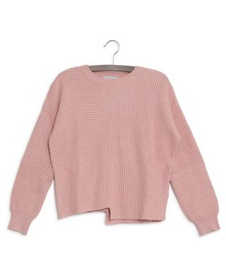 Pull asymétrique en coton durable et laine STELLA MCCARTNEY KIDS