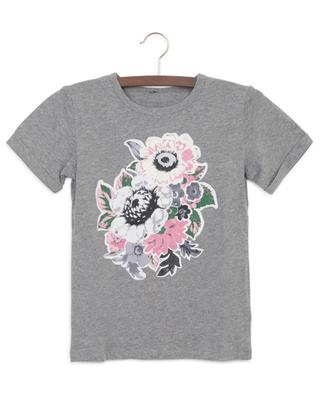 T-shirt en coton durable Flower Bouquet STELLA MCCARTNEY KIDS