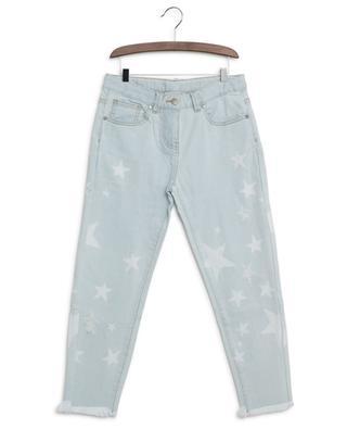 Stars distressed mum jeans STELLA MCCARTNEY KIDS