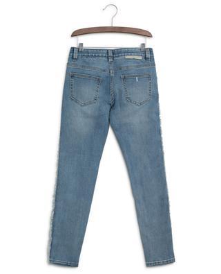 Jeans with side fringes STELLA MCCARTNEY KIDS