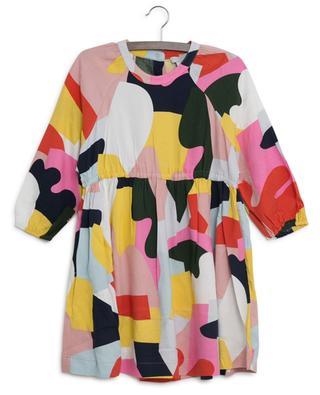 Color Block short sustainable viscose dress STELLA MCCARTNEY KIDS
