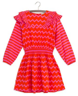 Herringbone smock dress STELLA MCCARTNEY KIDS