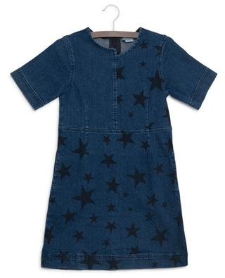 Spread Stars denim dress STELLA MCCARTNEY KIDS