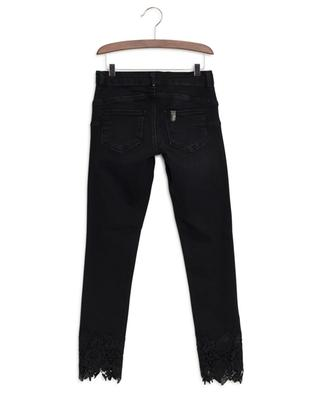 Slim fit jeans with lace LIU JO