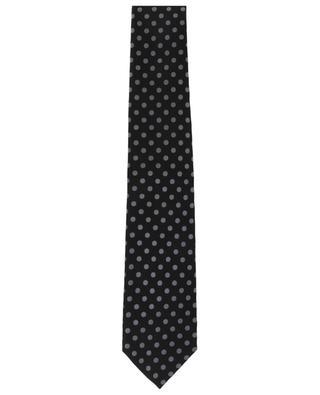 Krawatte mit silbernen Tupfen TOM FORD