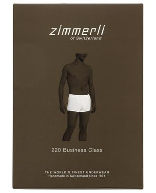 220 Business Class cotton fitting boxer shorts ZIMMERLI