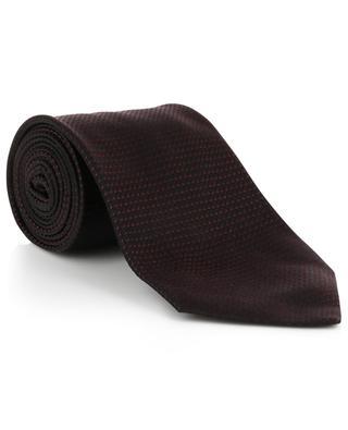 Krawatte aus strukturierter Seide TOM FORD