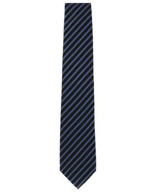 Gestreifte Krawatte aus strukturierter Seide TOM FORD