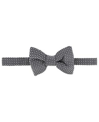 Tricolour chessboard pattern bowtie TOM FORD