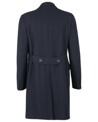 Virgin wool herringbone textured coat BONGENIE GRIEDER