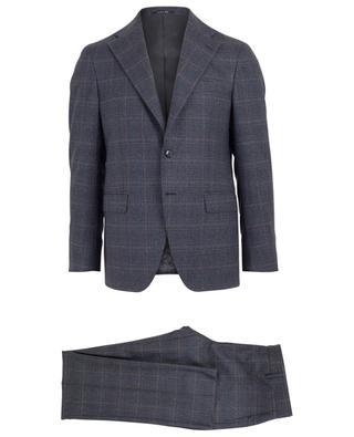 Karierter Anzug aus Wolle BONGENIE GRIEDER