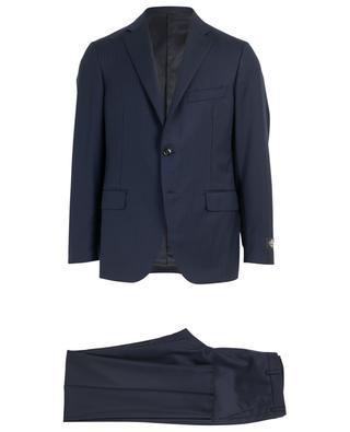 Anzug aus Wolle mit Fischgrätentextur BELVEST
