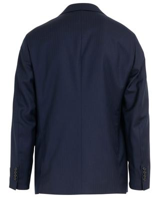 Chevron textured wool suit BELVEST