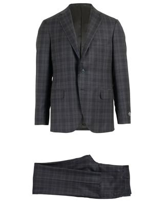 Tartan adorned wool suit BELVEST