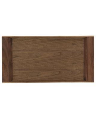 SEPIA nonslip large wooden tray KINTO