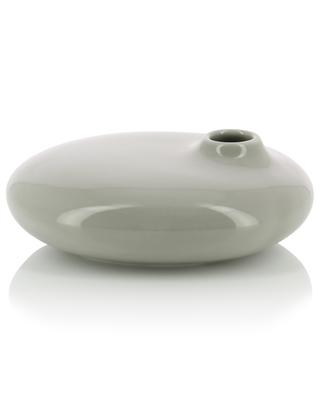 Kleine flache Porzellanvase Sacco 01 KINTO