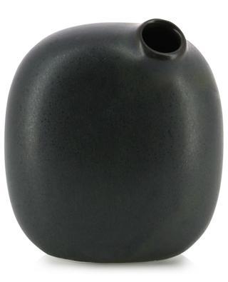 Sacco 02 small broad porcelain vase KINTO