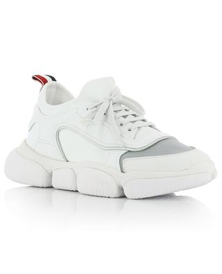 Briseis neoprene and patent leather sneakers MONCLER