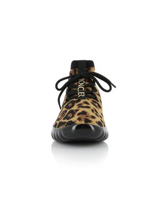 Sockensneakers mit Leopardprint Clelie MONCLER