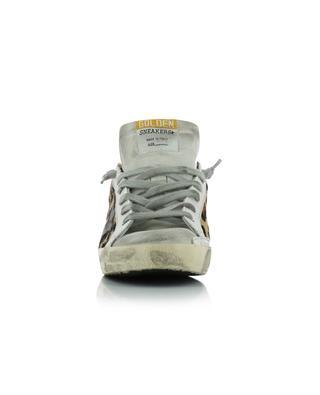 Sneakers aus Leoparden-Kalbshaarleder und Wildleder Superstar GOLDEN GOOSE
