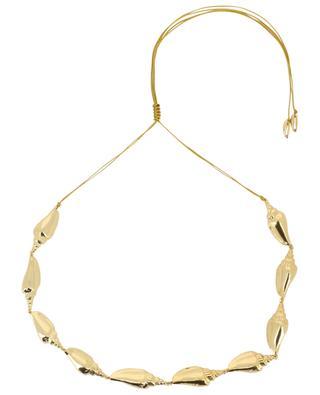 Goldene Halskette mit Muscheln Colubra TOHUM