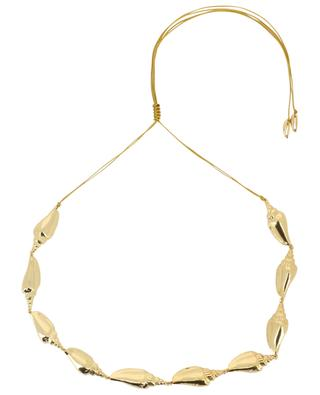 Colubra golden shell necklace TOHUM