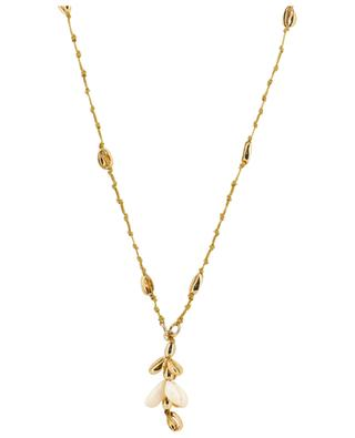 Puka Shell long cord necklace with shells TOHUM