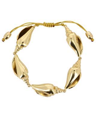 Colubra golden shell bracelet TOHUM