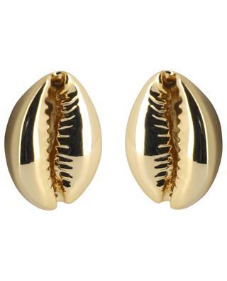 Puka Shell Large shell ear studs TOHUM