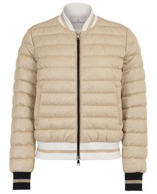 Or sparkling bomber spirit down jacket MONCLER