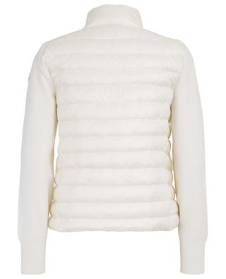 Lightweight down jacket with knit sleeves MONCLER