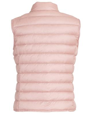 Liane quiltet gilet with snap buttons MONCLER