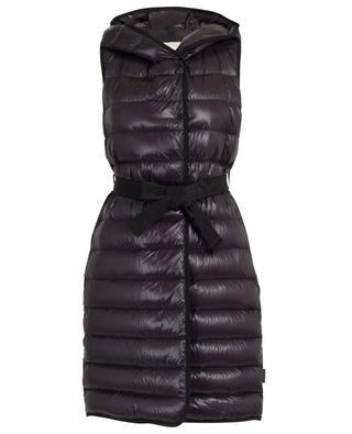 Noisette sleeveless hooded down jacket MONCLER