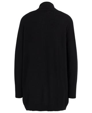 Long open cashmere cardigan with shawl collar BONGENIE GRIEDER