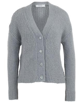 Button-down wool and alpaca cardigan BONGENIE GRIEDER