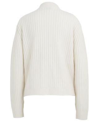 Chunky zippered rib knit cardigan BONGENIE GRIEDER