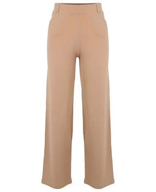 Hose mit weitem Bein im Milano-Strick BONGENIE GRIEDER
