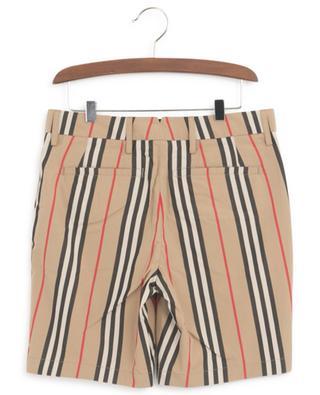 Nicki Icon Stripe poplin Bermuda shorts BURBERRY