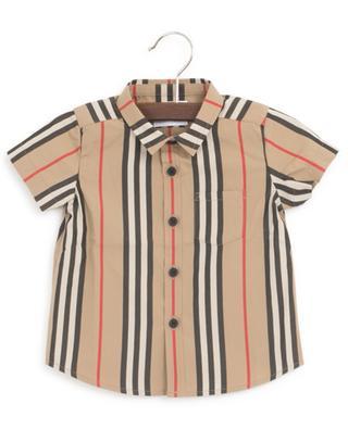 Fredrick Icon Stripe poplin shirt BURBERRY